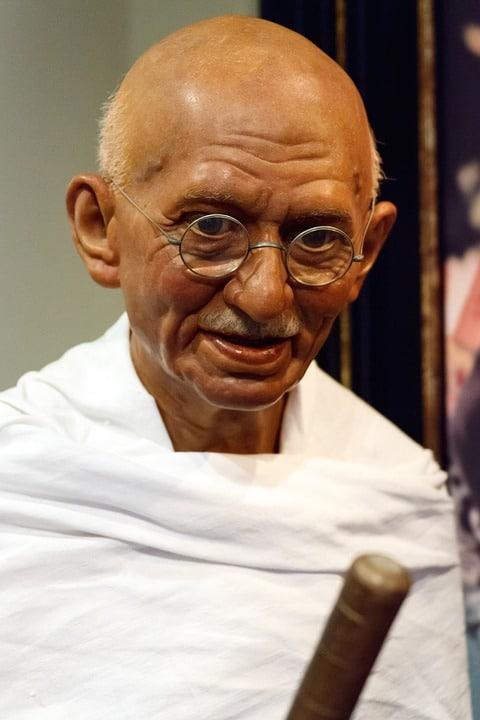 Photo de Ghandi qui a réussi sa vie
